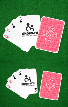 Разработка дизайна подарочных игральных карт