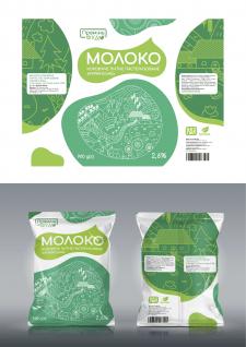 Дизайн упаковки для молочной продукции