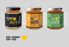 Создание этикетки и слогана для баночек с медом