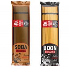 Разработка упаковки для вермишели Soba и Udon