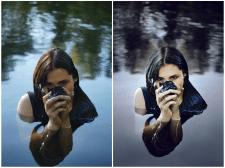 Пример работы в фотошопе