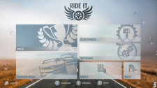 Main Menu Concept (Racing Game)
