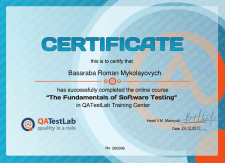 The fundamentals of software testing (4 week)