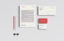 Фирменный логотип, визитка, бланк и конверт