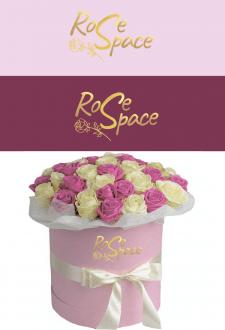 Rosespace. Логотип для магазина флористики