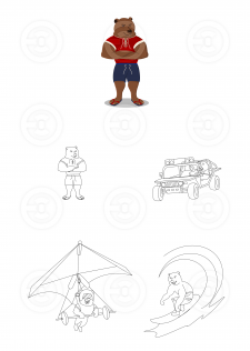 Персонаж. Mascot