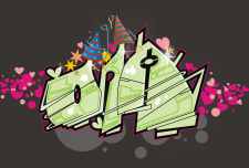 Рисунок на поздравительную открытку