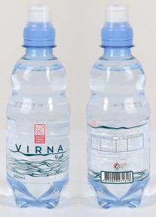 Дизайн этикетки воды VIRNA для White Coral Water