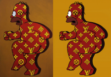 "Перерисовка ""Homer Simpson"""