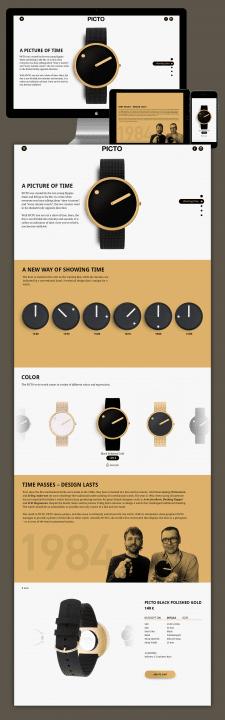 Сайт производителя часов Picto