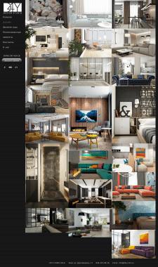 Разработка сайта студии дизайна интерьеров