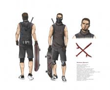 Концепты персонажей (комикс)