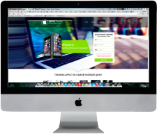 Сайт магазина техники Apple