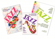 Создание плаката< Jazz Fest>