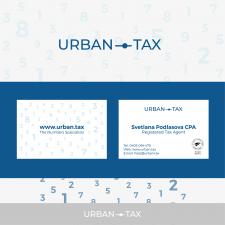 Логотип и визитка для бухгалтерской компании