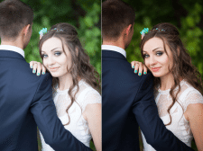Пакетная обработка свадебных фото