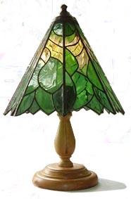 Лампа витражная
