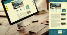 """Редизайн сайта для транспортной компании """"Gunsel"""""""