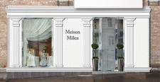 Проект дизайна фасада магазина детской одежды