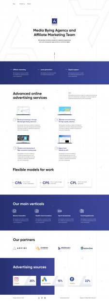 Landing page Activica