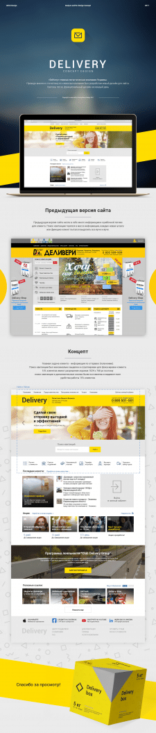 Delivery Service UX/UI