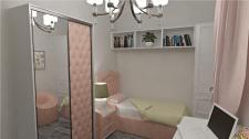 Дизайн детской комнаты для девочки 8 лет