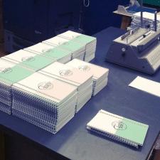 Дизайн блокнотов + печать