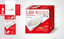 Упаковка для LED светильника