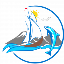 Логотип для морской компании по продаже судно.