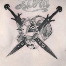 Тату козерог tattoo Capricorn