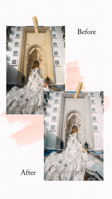 Пример обработки фото цветокоррекцией