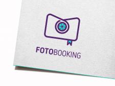 Fotobooking логотип для мобильного приложения