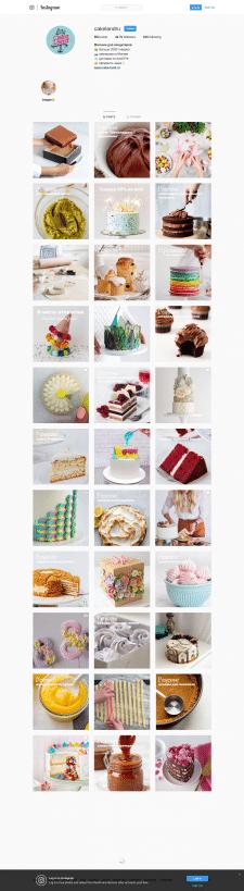 CakeLand.ru: продвижение магазина для кондитеров