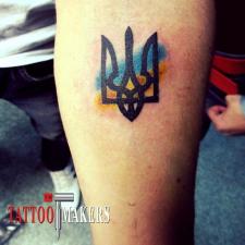 Тату Герб Украины