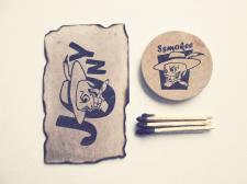 Лого для машинки, пресующей табак