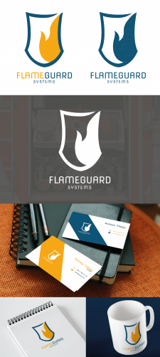 Логотип для компании FlameGuard