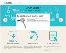 Сайт под ключ GPSM Sensor