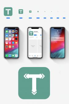 Иконка для туристического приложения