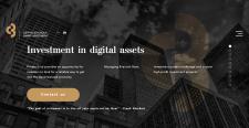 Crypto-Boutique - анимированный лендинг