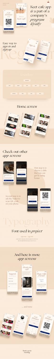 Keet cafe app