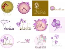 Дизайн логотипа для флористической компании