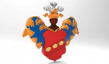 Модель фамильного герба для ЧПУ