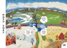 Разворот Детского словаря в картинках