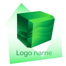 Лого куб