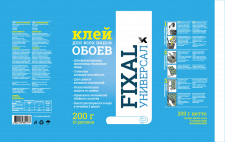 Упаковка для клея Фиксал