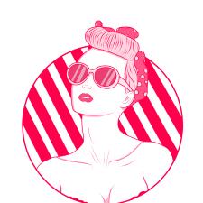 "Портрет в стиле ""Pinky"""