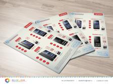 Разработка дизайна листовки формата А4