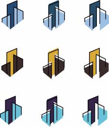"""Лого для риелторской компании """"мегаполис"""""""