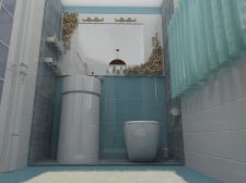 Разработка интерьера ванной комнаты