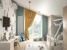 3d визуализация детской комнаты для мальчика